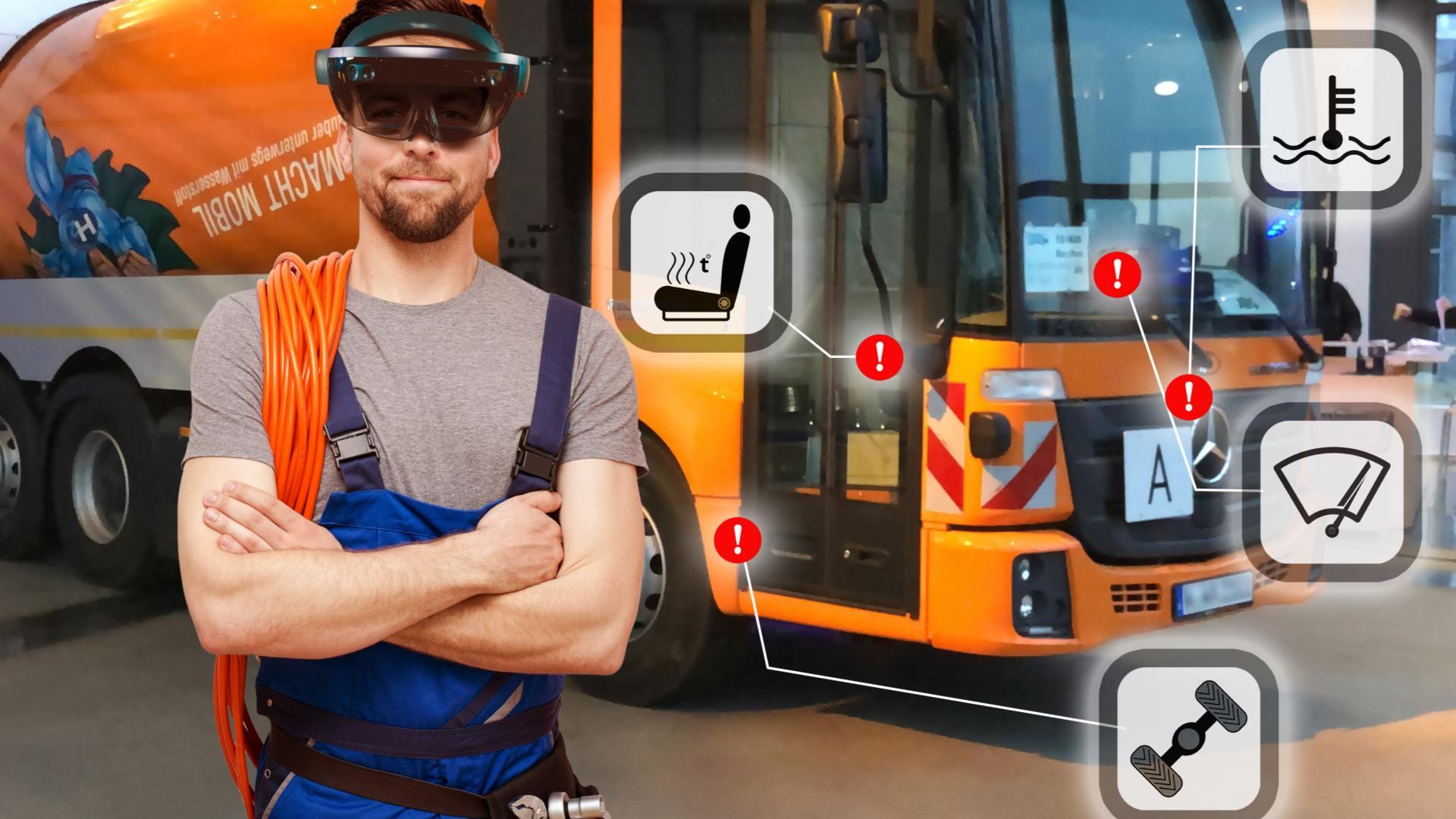Komplexe Aufgaben in der Kommunalwirtschaft mithilfe von Virtual Reality lösen