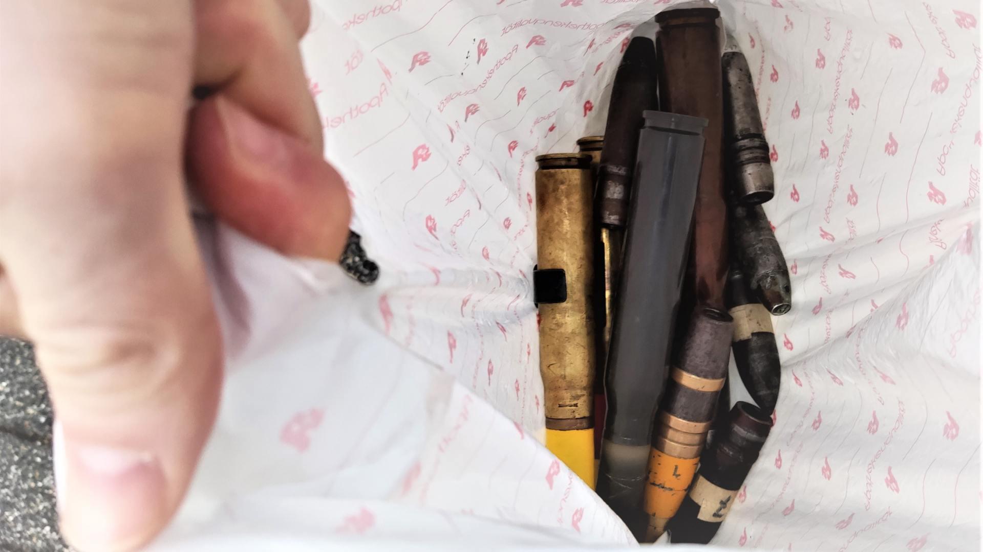 Was tun, wenn Sprengstoff, Munition und Explosives auf den Wertstoffhof gelangt?