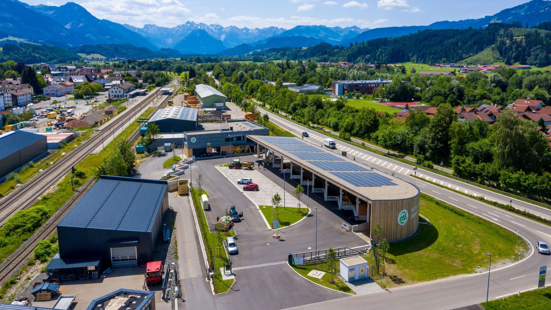 Wettbewerb Grüner Wertstoffhof: moderne Wertstoffhöfe in ländlichen Regionen