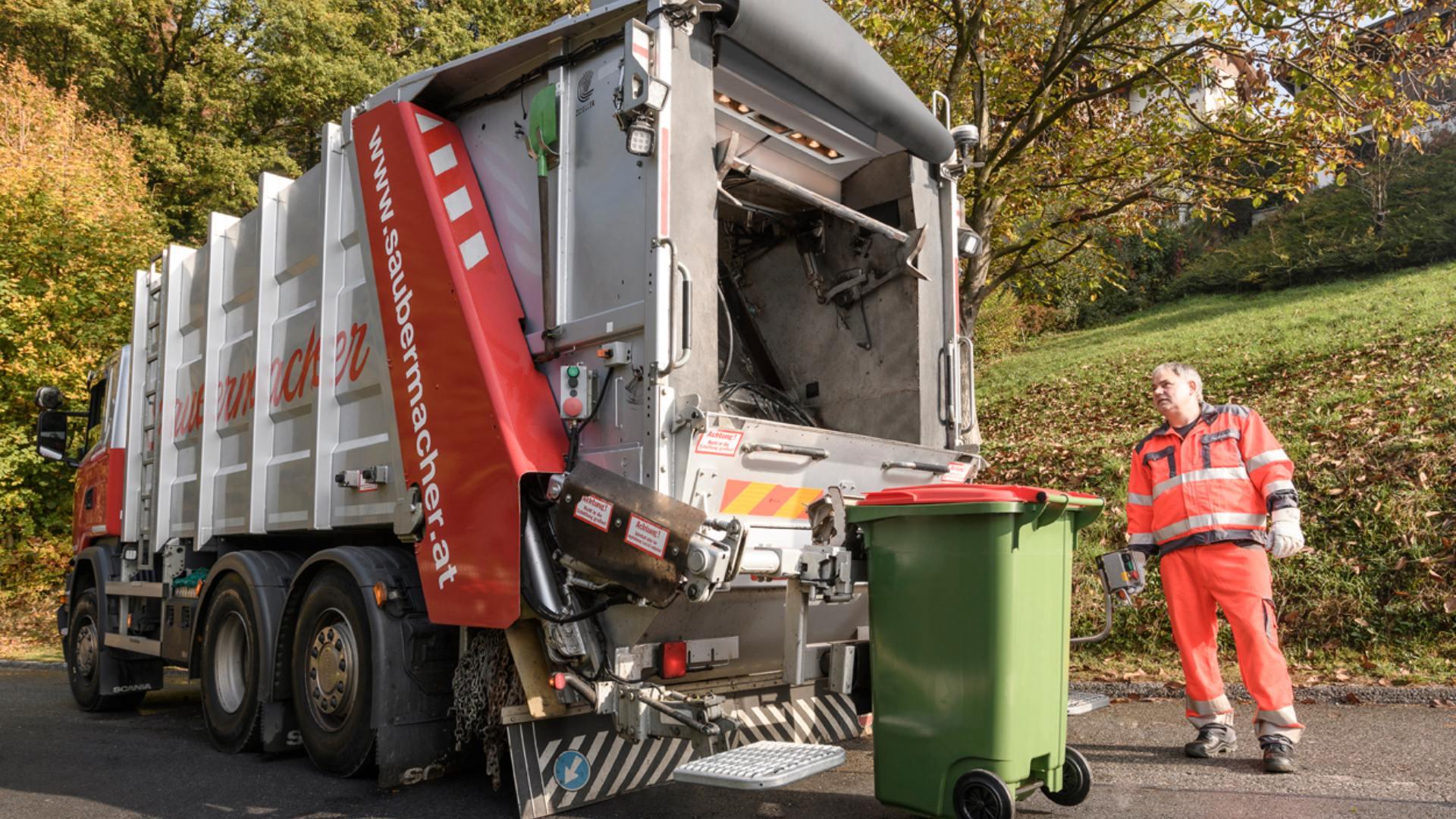 Digitale Wertstoffscanner am Abfallsammelfahrzeug erkennen mehr als 80% aller Fehlwürfe